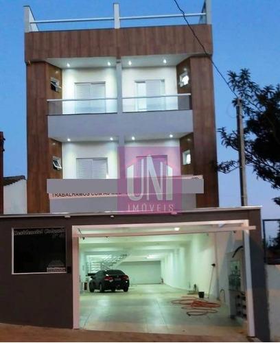 Cobertura Residencial À Venda, Vila Valparaíso, Santo André. - Co0627