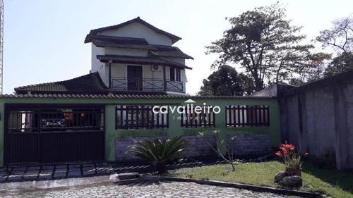 Casa Com 3 Dormitórios À Venda, 180 M² - Flamengo - Maricá/rj - Ca3791