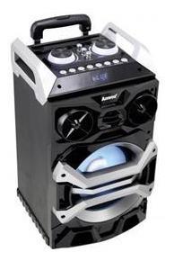 Caixa Amplificada Amvox Aca 252 Bluetooth Usb Auxiliar 200w