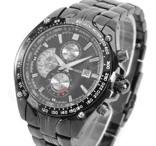 Relógio Analógico Curren Original Modelo 8083 Exclusivo
