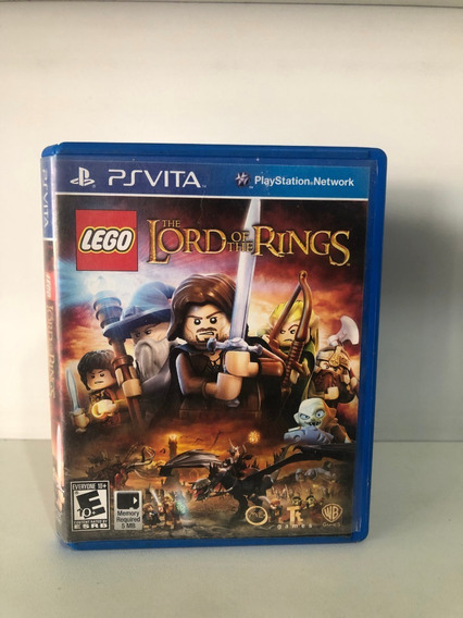 Jogo Psvita-the Lord Of The Rings