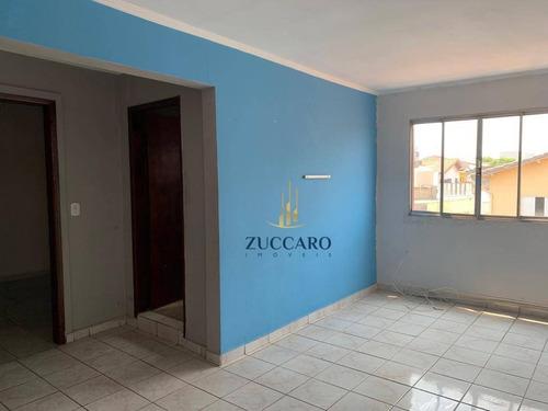 Apartamento Com 1 Dormitório Para Alugar, 35 M² Por R$ 750,00/mês - Vila Fátima - Guarulhos/sp - Ap16377