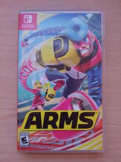 Juego Arms Para Nintendo Switch