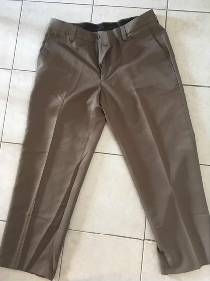 Pantalon De Vestir Marron