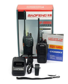 Walkie Talkie Handy Baofeng 16 Ch. + Auricular De Regalo