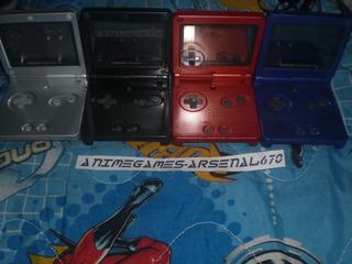 Game Boy Advance Sp 1 Consola 1 Juego Original Cargador Gba