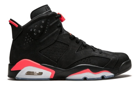 Jordan Retro 6 Black Infrared 2019 Talla 7 Mx 9 Usa Original
