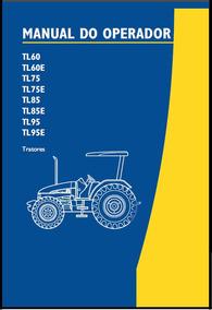 Manual Operação Tratores New Holland Tl60-tl75-tl85-tl95