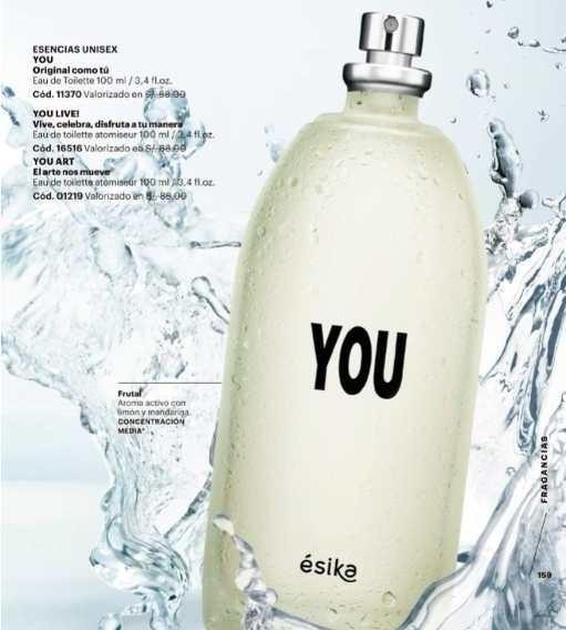Colonia Perfume I´ts You Original Esika, Unisex 100 Ml