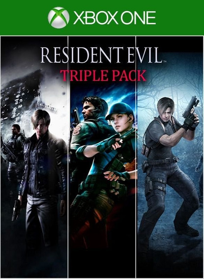 Resident Evil 4,5 E 6 - Xbox One - Mídia Digital - Imediato
