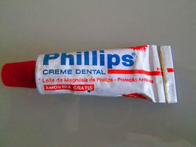 Creme Dental Phillips Mini Amostra Grátis Farmácia Antiga