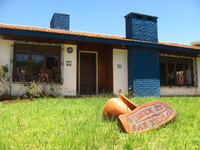 Casa Gesell, 3 Amb, 2 Bñs, Jardin, Cochera, 6 Prsonas, Parri