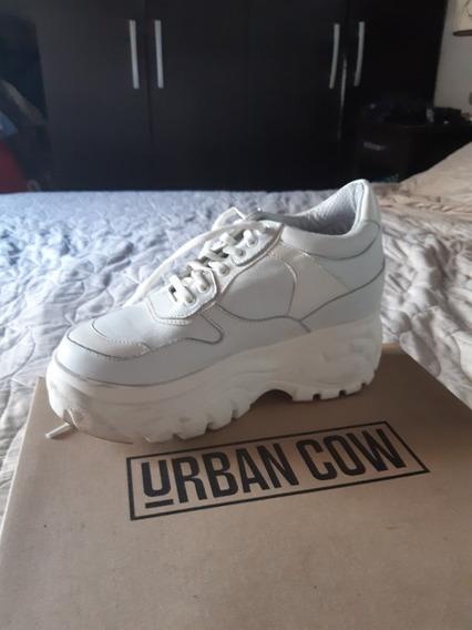 Zapatillas Con Plataforma Urbancow Nuevas Talle 36