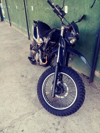 Moto Xtz 125 Xe Preta.