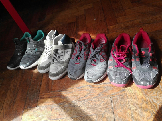 Zapatillas Combo Nike Lotto Rebock