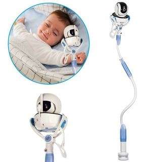 Suporte Articulado Para Cam E Celular Universal Bebes Idosos Garra Forte Compatível Com Equipamentos Celular
