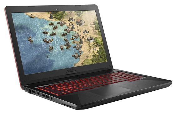 Notebook Asus Gamer Tuf Intel® Core I7-8750h 8gb 2 Tera Nvidia Gtx 1060 6gb Tela 15,6 Full Hd Ips 120hz