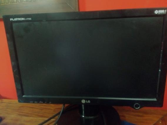 Monitor Lg Flatrom L177ws Usado Em Ótimo Estado