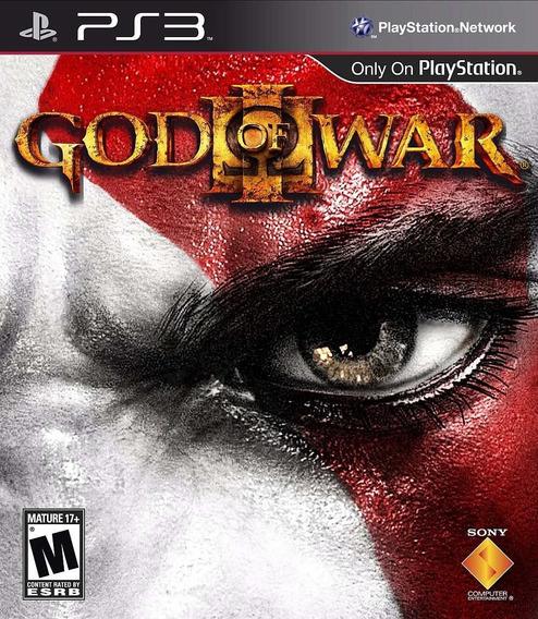 Jogo God Of War 3 Playstation 3 Ps3 Gow3 Mídia Física Kratos