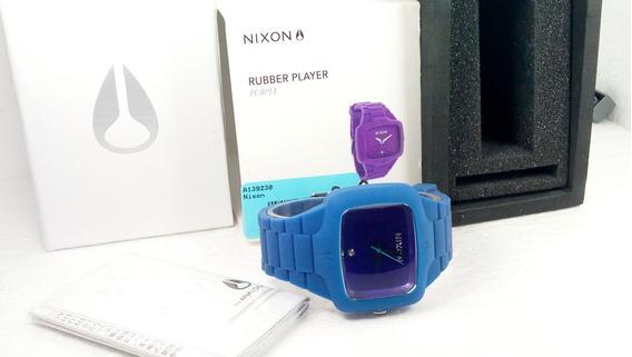 Nixon The Player Rubber Novo Original Frete Grátis