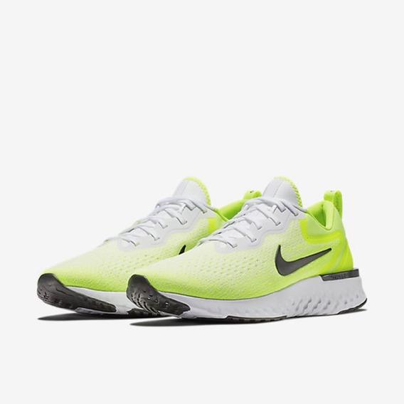 Tênis Nike Odyssey React Verde Limão Original - Footlet