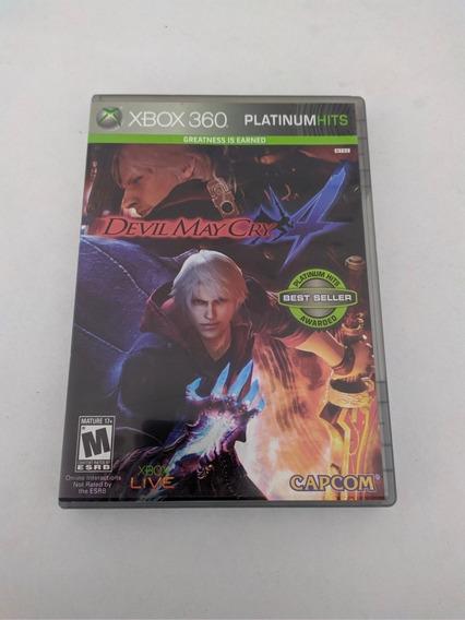 Jogo Devil May Cry 4 Mídia Física Xbox 360