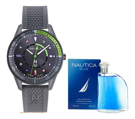 Reloj Nautica Para Caballero Modelo: Napsps902 & Nautica Env