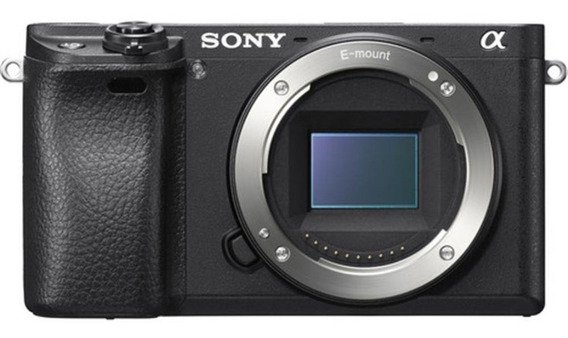 Sony Alpha A6300 4k Com Wifi - Black ( Corpo )