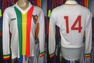 Seleção Gaúcha Década 70 Camisa De Jogo Mangas Longas # 14.