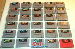 Juegos Super Nintendo Snes Grandes Titulos Originales