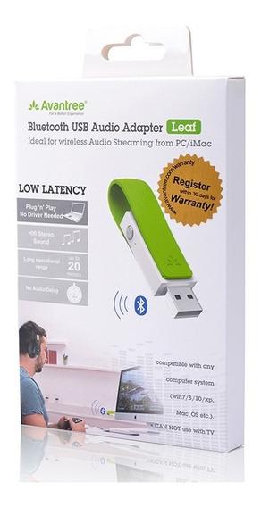 Receptor Bluetooth Audio Avantree Leaf Adaptador Usb Pc Ps4