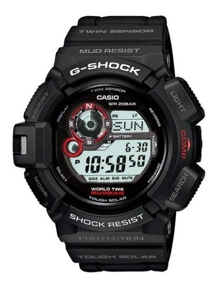 Relogio Casio G-shock G-9300-1 Mudman Em 12x Sem Juros Em Sp