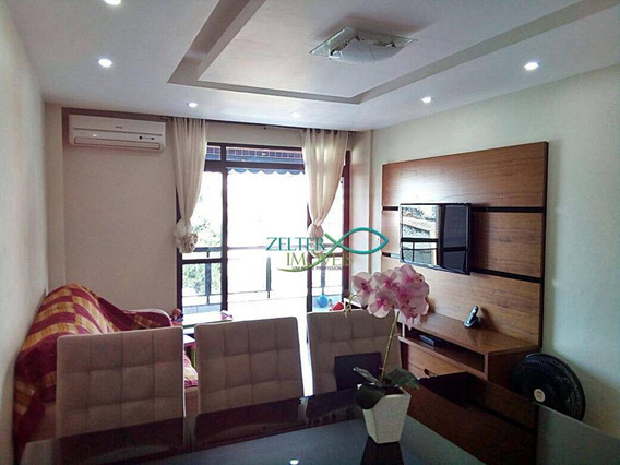 Apartamento Com 3 Dormitórios À Venda, 100 M² Por R$ 400.000,00 - Vila Da Penha - Rio De Janeiro/rj - Ap0738