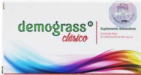 Demograss Clásico 30 Tab 100% Original. Inicio Tratamiento