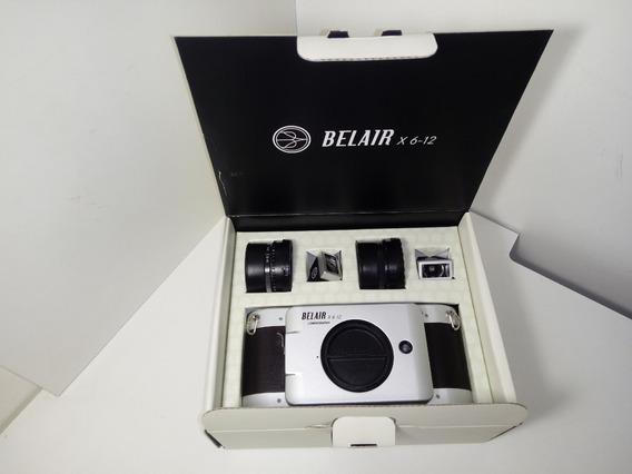 Câmera Lomography Belair Panorâmica 6x12 6x9 6x6