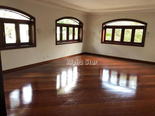 Casa Com 4 Dormitórios À Venda, 400 M² Por R$ 1.800.000,00 - Alphaville 06 - Santana De Parnaíba/sp - Ca1722