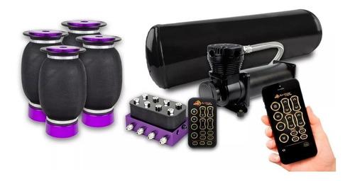 Kit Suspensión Neumática Castor 8mm Bluetooth
