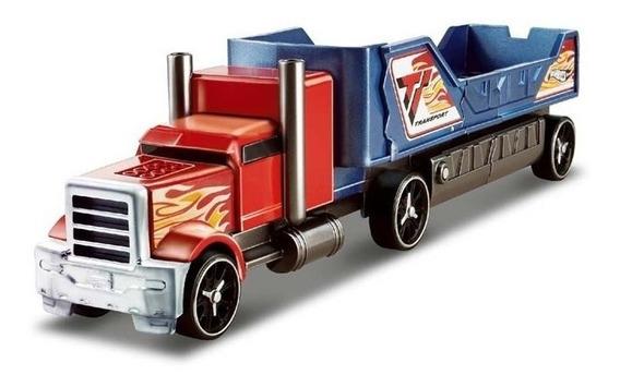 Camion Hot Wheels Remolque De Choques