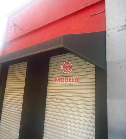 Salão Comercial Para Locação, Paulista, Piracicaba. - Sl0178