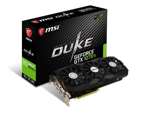 Placa Video Geforce Gtx 1070 Ti Duke Gddr5 256bits  8g