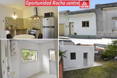 Casa Rocha Ciudad Centro, 2 Hab, Patio, Reformada A Nueva.