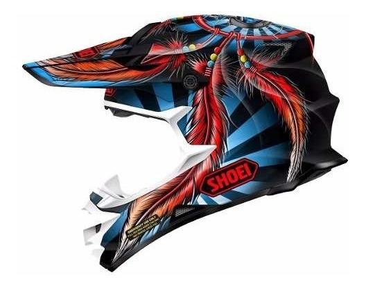 Casco Motocross Enduro Shoei Vfx-w Grant 2 Tc-1 En 6 Cuotas