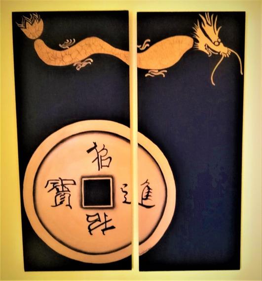 Cuadro Dragon Chino