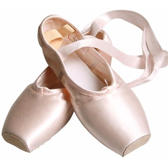 Zapatillas De Punta De Ballet+mallas+punteras+envio