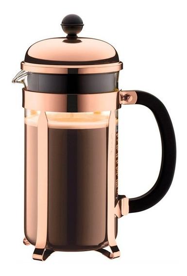 Cafetera Bodum Chambord Cobre 8 Pocillos 1 Litro