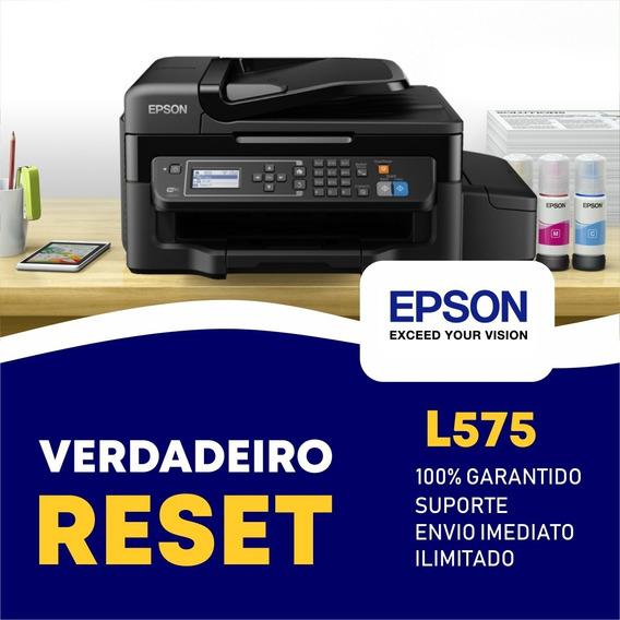 Reset Epson L575 - Verdadeiro Reset Epson