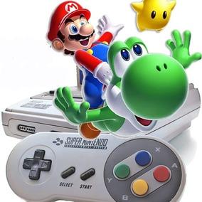 Emulador Super Nintendo Xbox 360 Pc + 1000 Jogos Super Mario