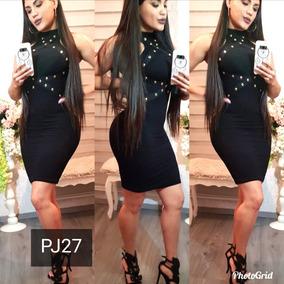 Vestido Dama Negro Casual Pj27 Envio Gratis