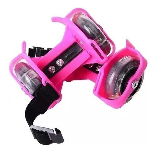 Patines Luminosos Ajustables Para Zapatos Flashing Roller