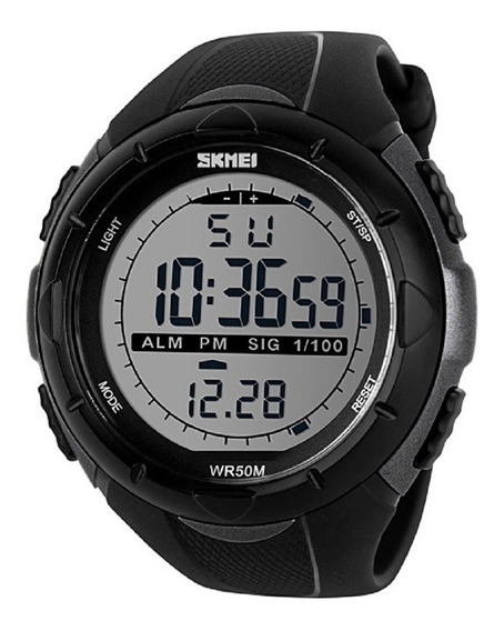 Relógio Masculino Skmei Digital 1025 Cinza